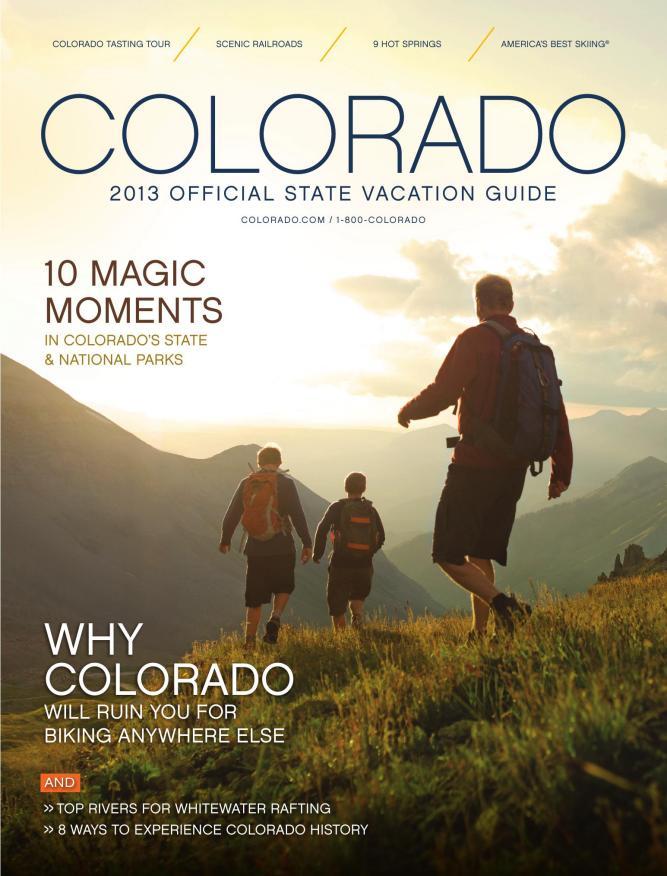 3e3e6efcfd Colorado 2013 Official State Vacation Guide