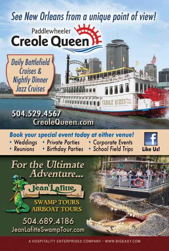 New Orleans Official Visitors Guide 2014